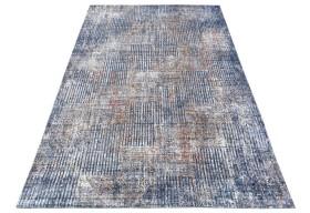 Dywan nowoczesny do salonu ONTARI Niebieski 507a KENTAKI