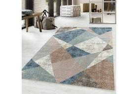 Dywan do salonu nowoczesny SPAR Niebieski ROJALS
