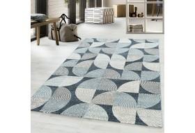 Dywan do salonu nowoczesny PATRA Niebieski ROJALS