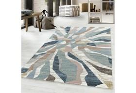 Dywan do salonu nowoczesny HANI Niebieski ROJALS