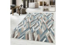 Dywan do salonu nowoczesny LARIS Niebieski ROJALS