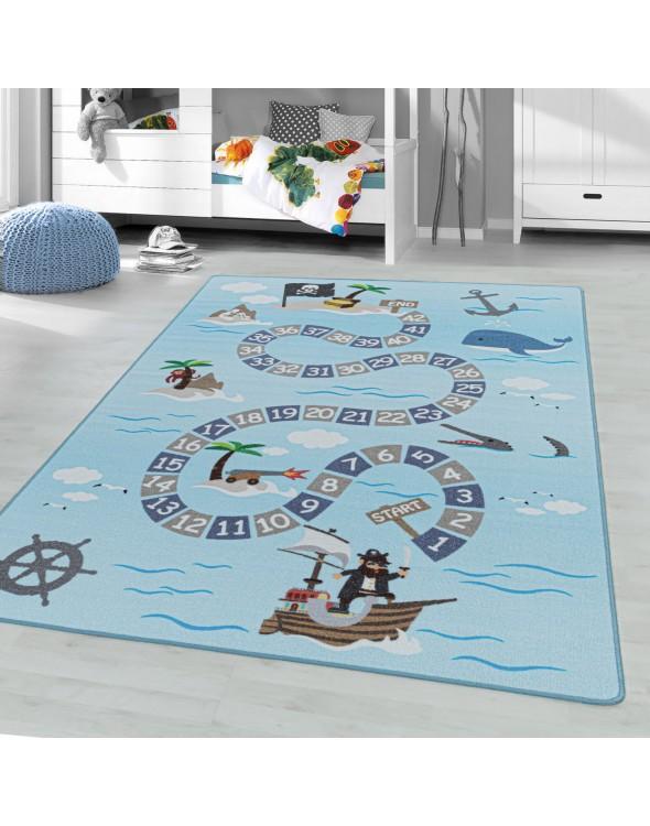 Fantastyczny dywanik dla dzieci. Doskonała dekoracja i świetna zabawa.