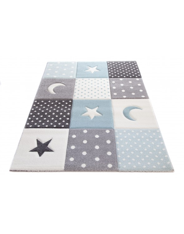 Nowoczesny dywan do pokoju dziecięcego