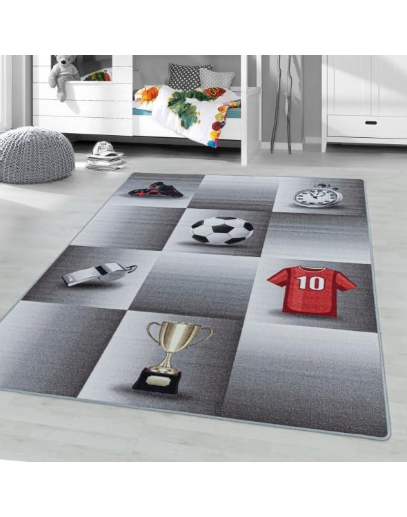 Modny dywan z motywem piłki nożnej