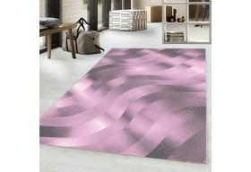 Dywan do salonu FLORA Różowy COSTARICA