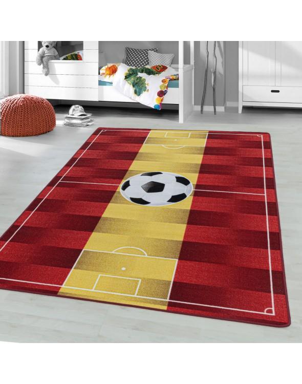 Dywan piłka nożna fantastyczna dekoracja do pokoju chłopca