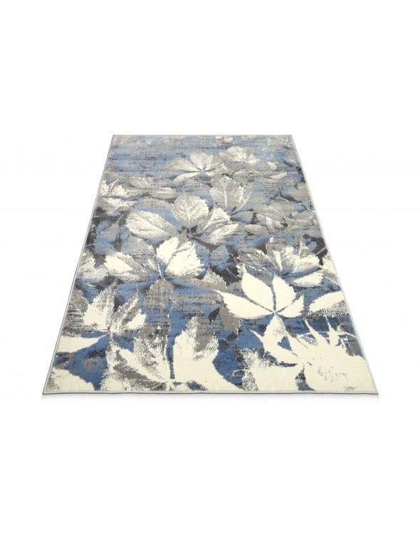 Modny dywan do salonu. W piękne, modne wzory kwieciste.
