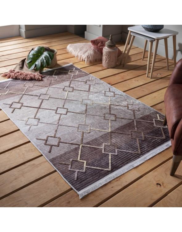 Nowoczesny dywan z efektem 3D do salonu i sypialni