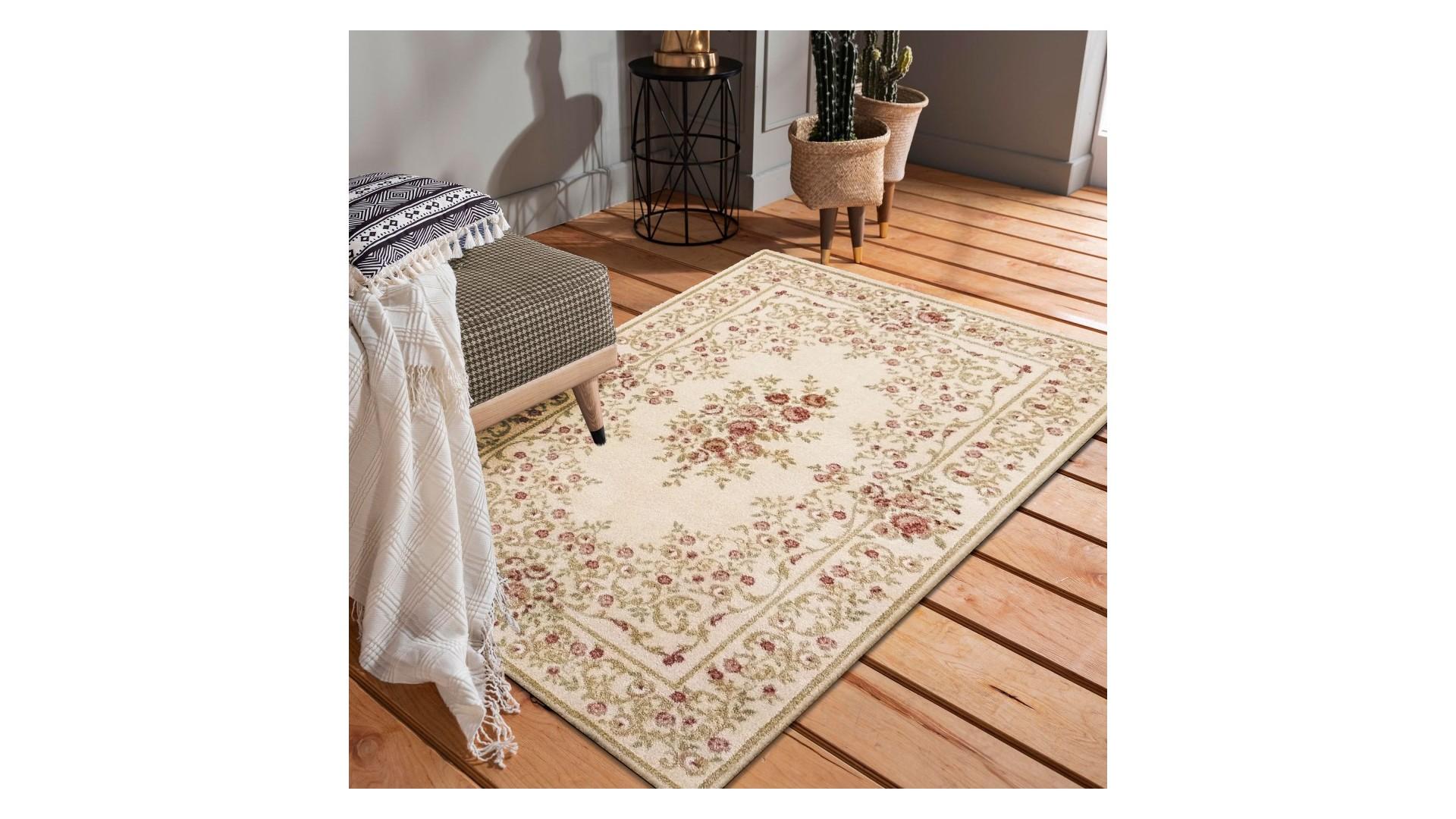 Przepiękny kremowy dywan CASOBLANCO idealny do Twojego wnętrza.