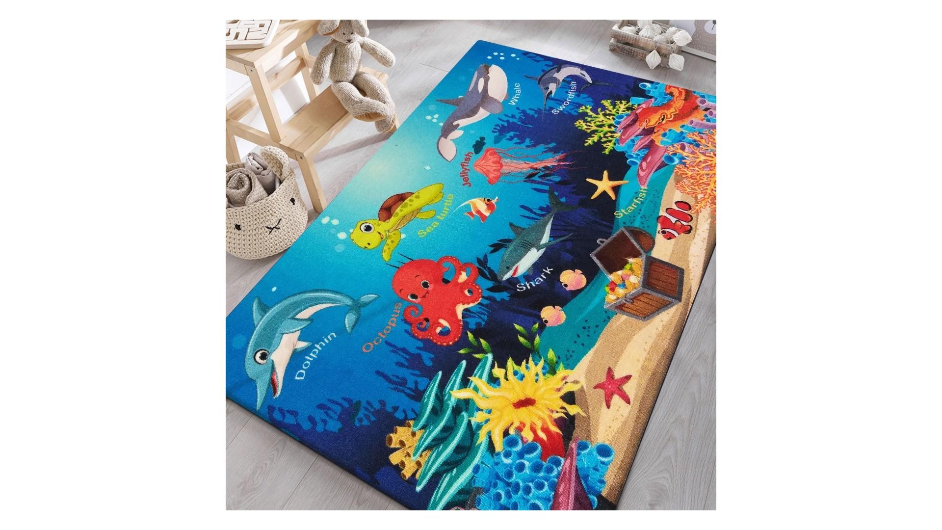 Kolorowy dywanik do pokoju dziecięcego z najnowszej kolekcji KIDS.