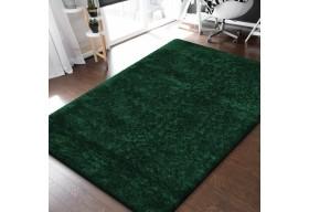 Dywan do salonu i sypialni SHAGGY Zielony MERINOS
