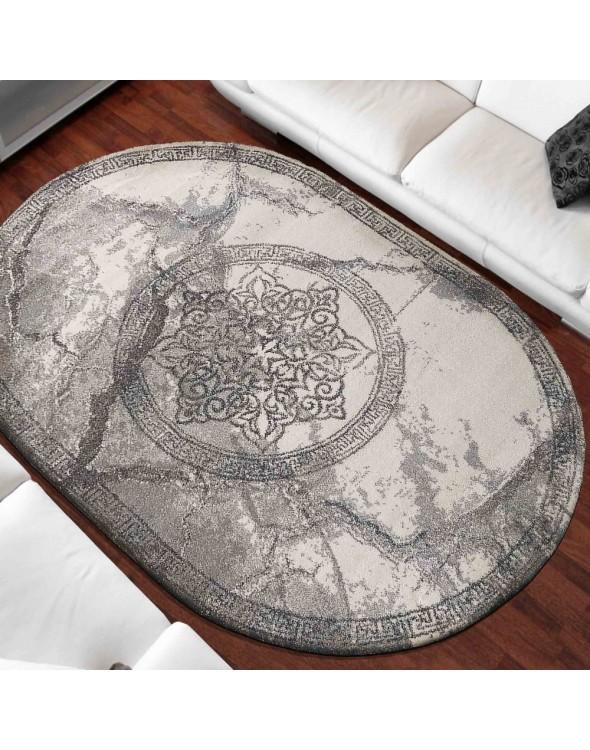 Owalny dywan AROY z kolekcji Vista do salonu i sypialni