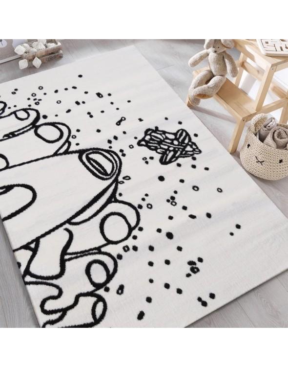 Bajkowy dywanik KOSMOS z kolekcji SOHO do pokoju dziecięcego