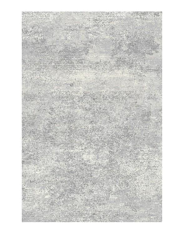 Nowoczesny dywan w bardzo modnej kolorystyce szaro kremowej. Idealny do salonu.