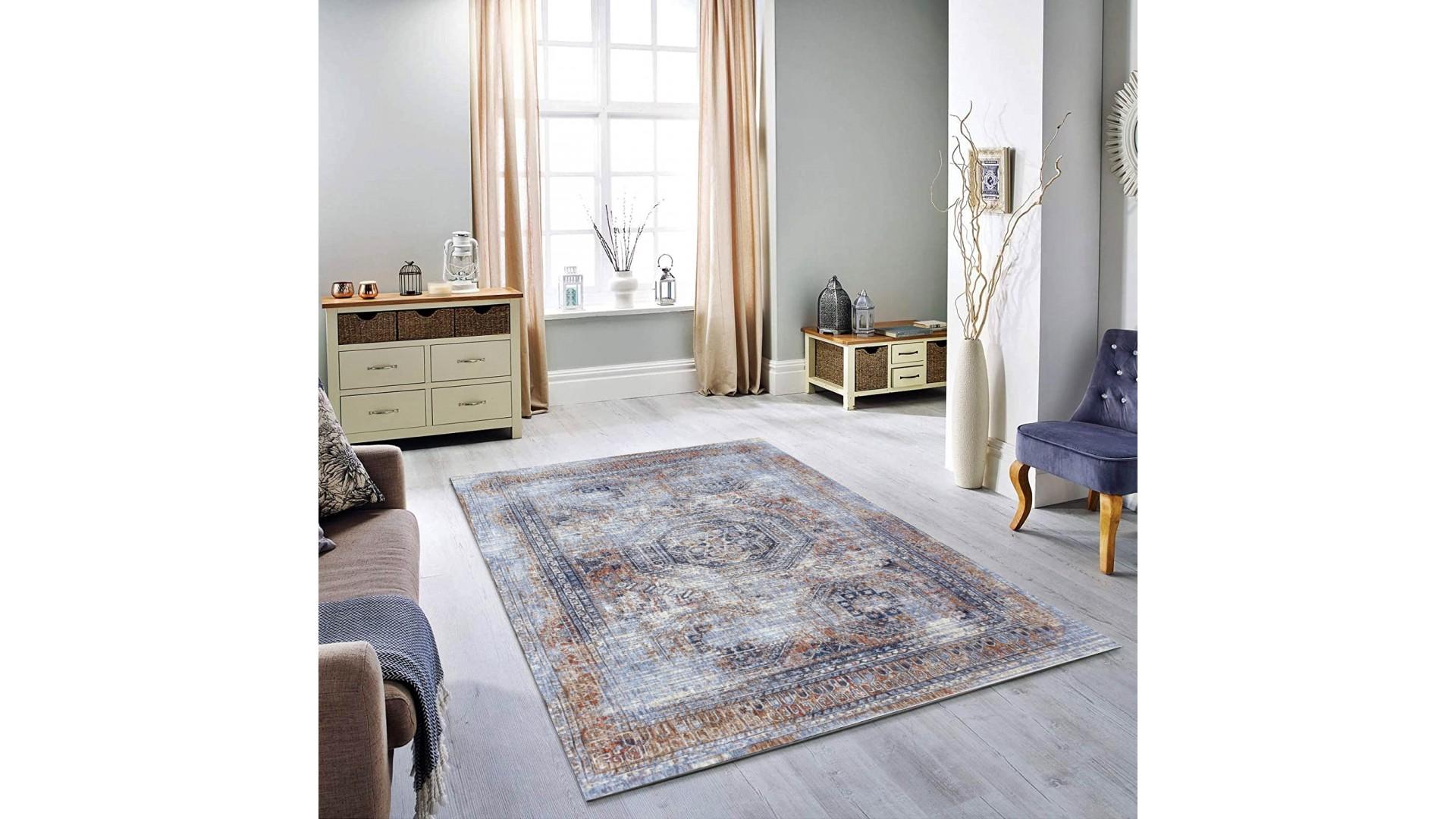 Nowoczesny dywan do salonu doskonale pasuje do wnętrz w stylu LOFT