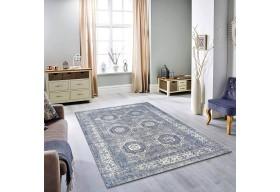 Dywan nowoczesny do salonu TIORIS Niebieski 509 KENTAKI