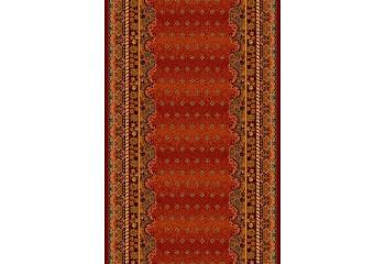 Dywan wełniany klasyczny BARON Burgund chodnik POLONIA