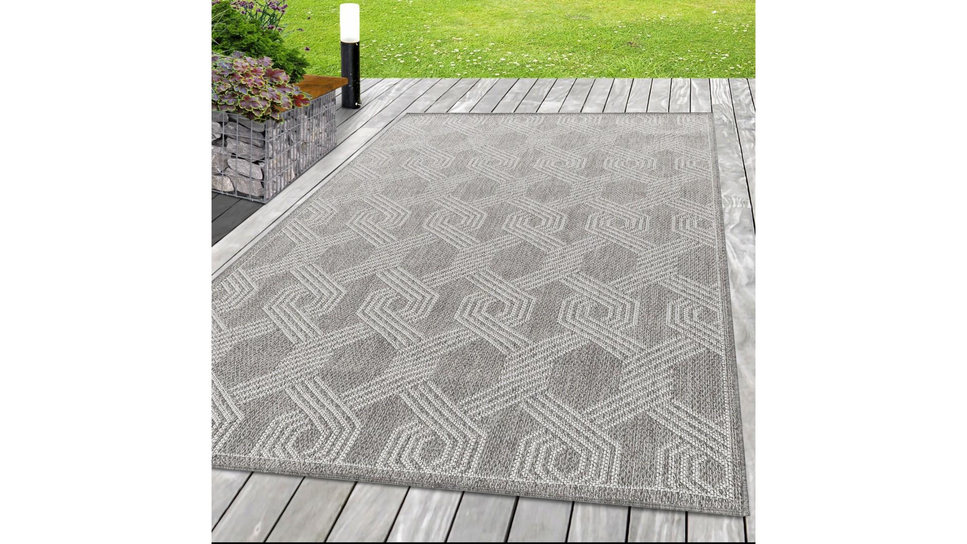 Przepiękny dywan sznurkowy na taras, balkon i do kuchni.