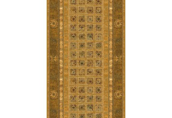 Dywan wełniany klasyczny ANTIK Miód chodnik OMEGA