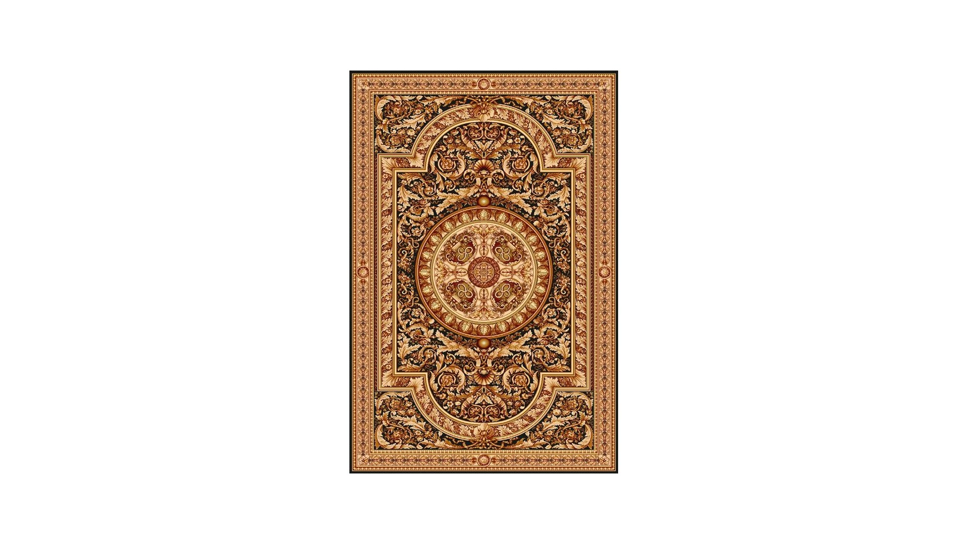 Przepiękny, klasyczny dywan wełniany z najwyższej kolekcji dywanów Agnella - Egon Czarny