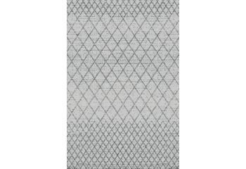Przepiękny szary dywan.
