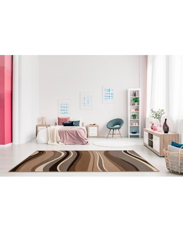 Idealnie dobrane barwy, przepiękny i modny wzór fal