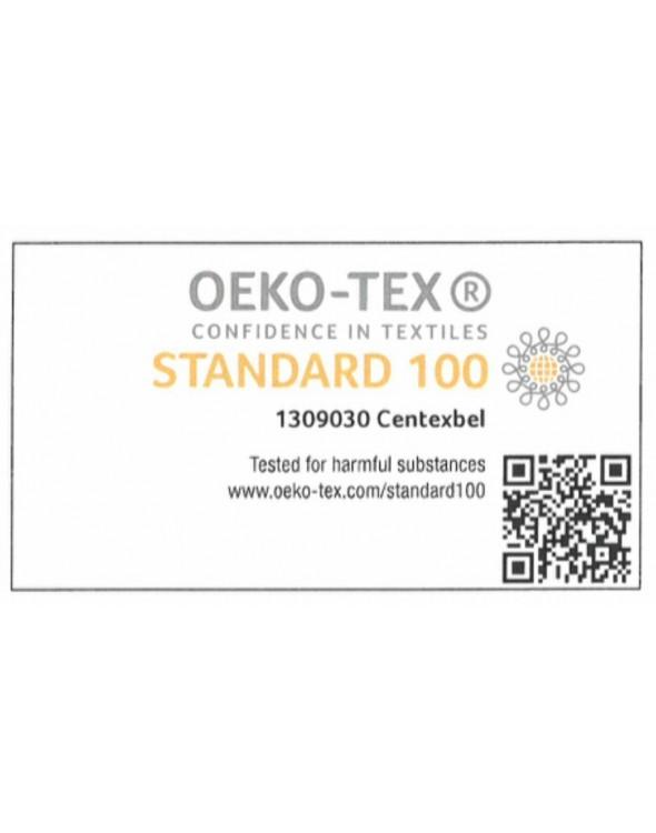 Certyfikat STANDARD 100 - najwyższy możliwy do uzyskania certyfikat w branży tekstylnej