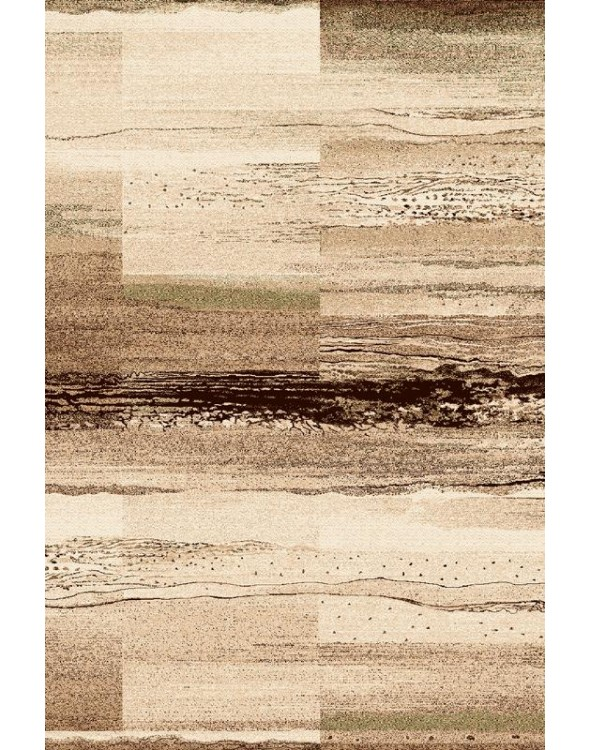Piękne, modne jasne barwy dywanu.