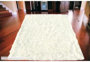 Dywan Shaggy Plusz Biały White