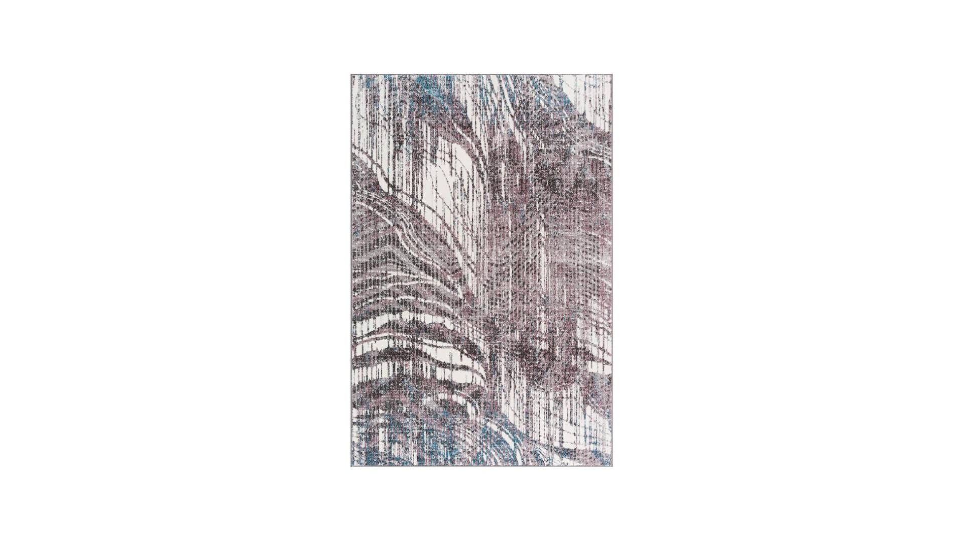 Dywan nowoczesny do salonu w mazane jasne szare kolory.