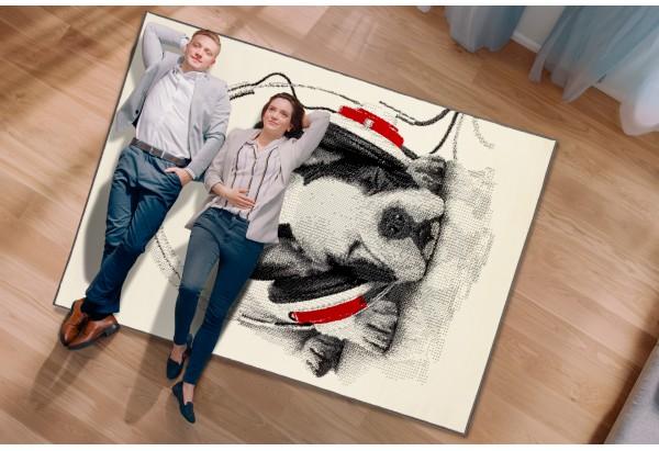 Wysokiej jakości wykonanie - oryginalny dywan belgijski.