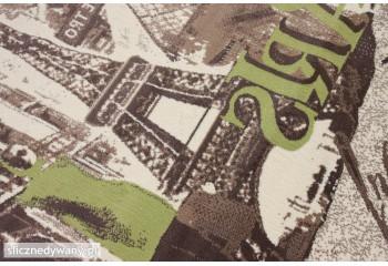 Bardzo nowoczesny dywan do pokoju młodzieżowego.