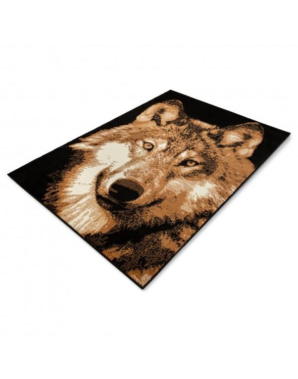 Młodzieżowy dywan Wilk Nairobi idealnie komponuje się w każdym nowoczesnym wnętrzu.