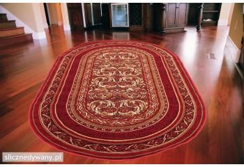 Dywan klasyczny do salonu ARALIA Owal Bordo STANDARD