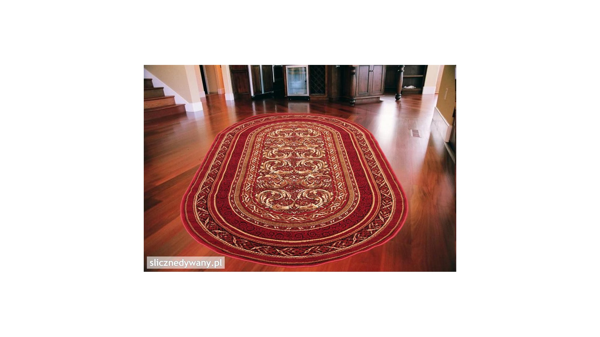 Modny, klasyczny dywan do każdego wnętrza domu.