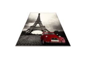 Modny dywan Wieża Eiffla z najnowszej kolekcji City ożywi każde nowoczesne wnętrze.