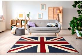 Dywan młodzieżowy do salonu BRITISH FLAG ALFA