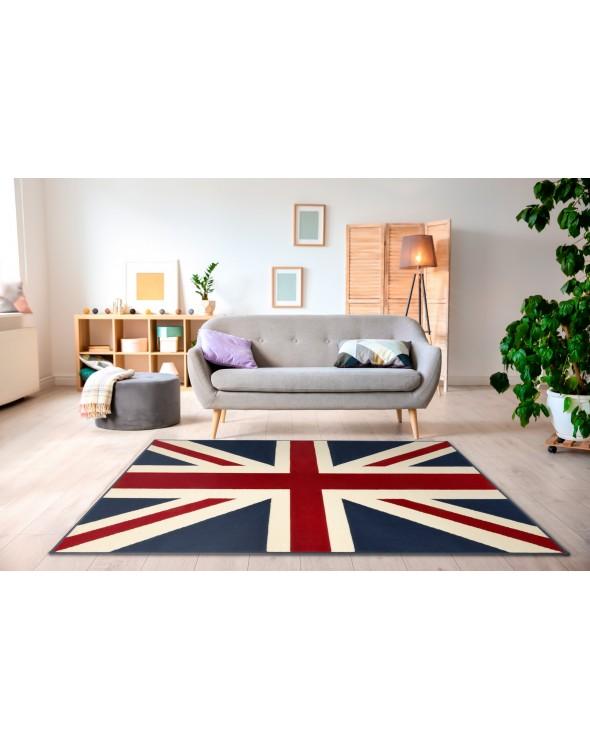 Młodzieżowy dywan idealnie komponuje sie w każdym nowoczesnym wnętrzu.