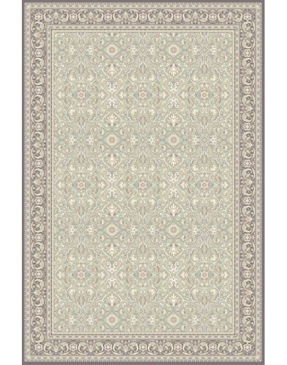 Klasyczny dywan do salonu. Wykonany został z wełny.