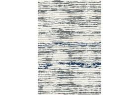 Dywan nowoczesny do salonu MELETE Niebieski AVANTI