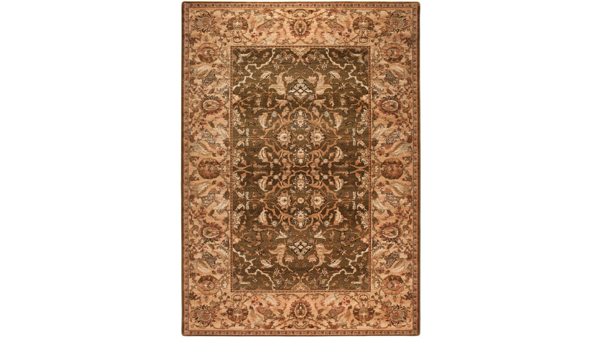 Wełniany dywan dobrej jakości do salonu.