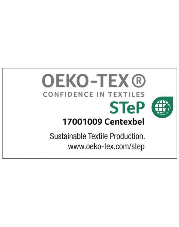 Certyfikat STeP oznacza zrównoważoną produkcję w przemyśle tekstylnym. Firma Alfa dba o środowisko.