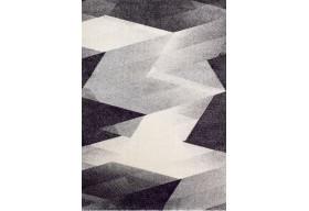 Dywan nowoczesny do salonu BARISO Szary LARIS