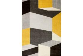 Dywan nowoczesny do salonu WERONA Zielono Żółty LARIS