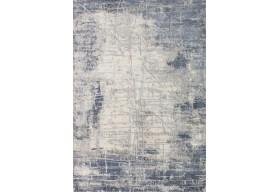 Dywan nowoczesny do salonu BAKU Niebieski OPRA