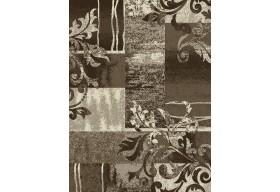 Dywan nowoczesny do salonu ORNAMENT Brązowy ALFA