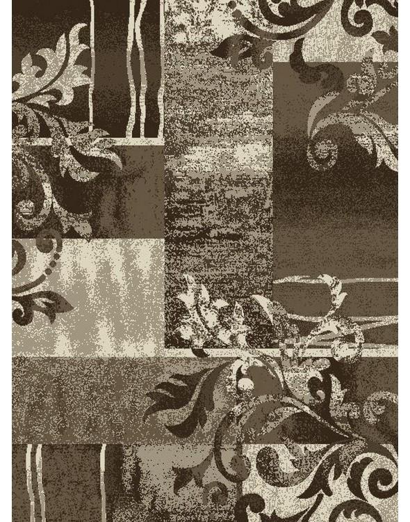 Dywan nowoczesny w kwiaty.