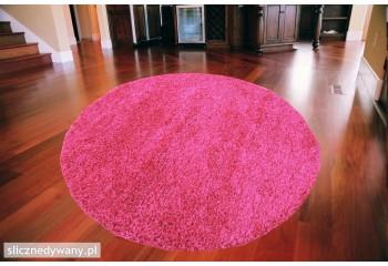 Dywan Shaggy Ciemny Różowy...