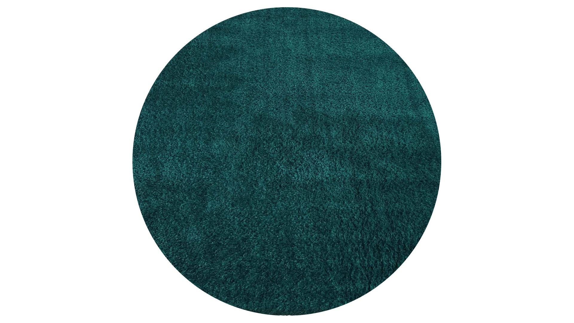 Niesamowity nowy kolor dywanu Shaggy - butelkowa zieleń
