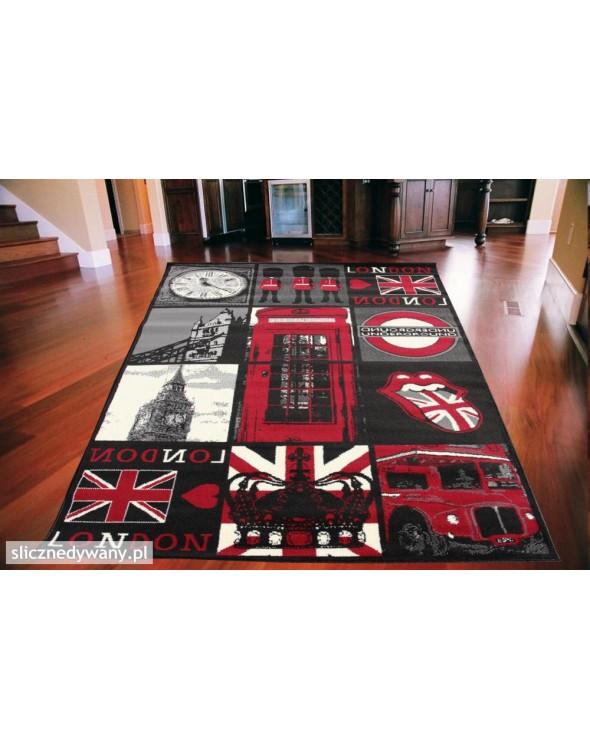 Jest to bardzo modny dywan do salonu i pokoju młodzieżowego.